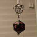 Triad Pendant with D20