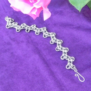 ZigZag Chainmail Bracelet - Stainless Steel