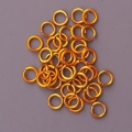 "100 ct. 20 ga Gold Anodized Aluminum 1/8"" Links"