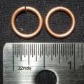 "100 ct. 16 ga Copper 3/8"" Links"