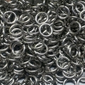 "100 ct. 18A ga Stainless Steel 3/16"" Links"