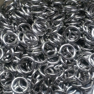 """100 ct. 18A ga Stainless Steel 7/32"""" Links"""