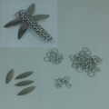 Bright Aluminum Dragonfly (Style 2) Kit (makes 4 dragonflies)