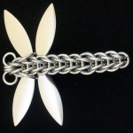 Bright Aluminum Dragonfly (Style 2) Kit (makes 4 dragonflies) (Instructions not included)
